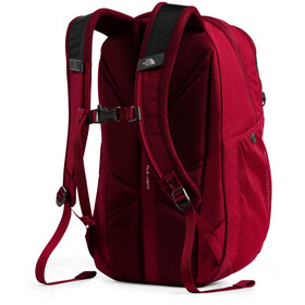 The North Face Jester Backpack tnf dark grey heather/cardinal red